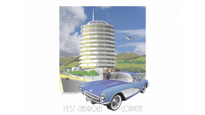 Capital Records and 1957 Chevy Corvette