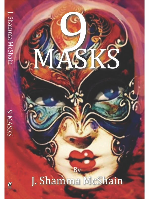 9 Masks Book Cover Front