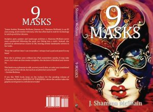 9 Masks Book Cover Art