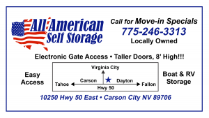 All American Self Storage Ad