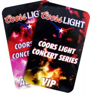 Coors Light Passes