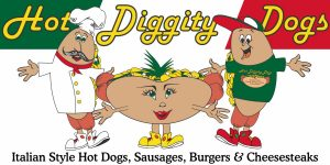 Hot Diggity Dogs Characters Logo