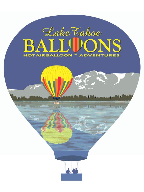 Lake Tahoe Balloons Shirt Design