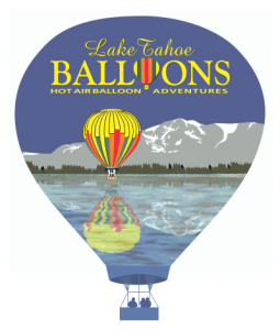 Lake Tahoe Balloons Shirt Design Artwork