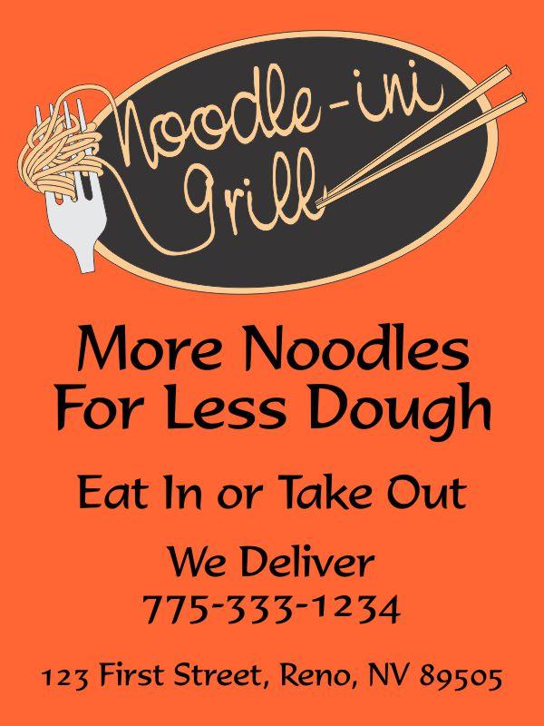 Noodle-ini Grill Ad