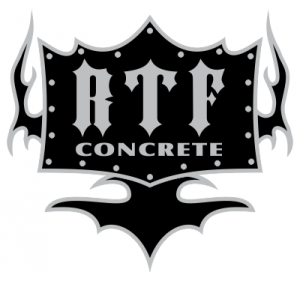 RTF Concrete Shirt Design Artwork