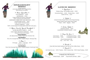 Wolf Creek Breakfast & Lunch Menus