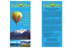 Lake Tahoe Balloon Counter Card